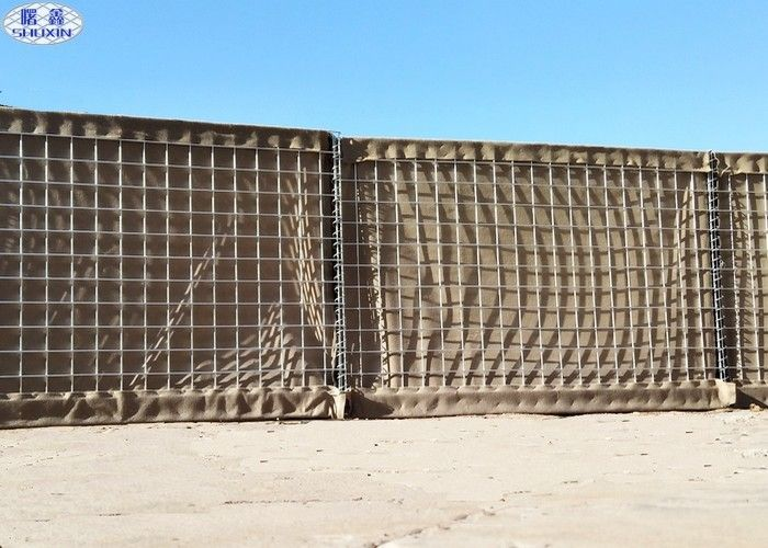 "3""x3"" Mesh Hole Sand Filled Barriers For Army And Military Defence"